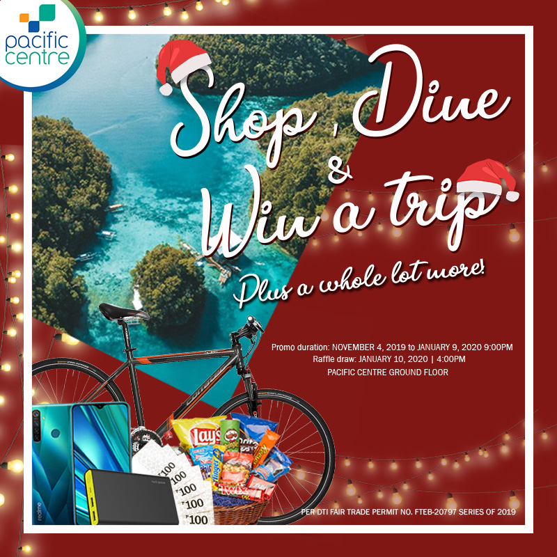 Shop, Dine, and Win a Trip
