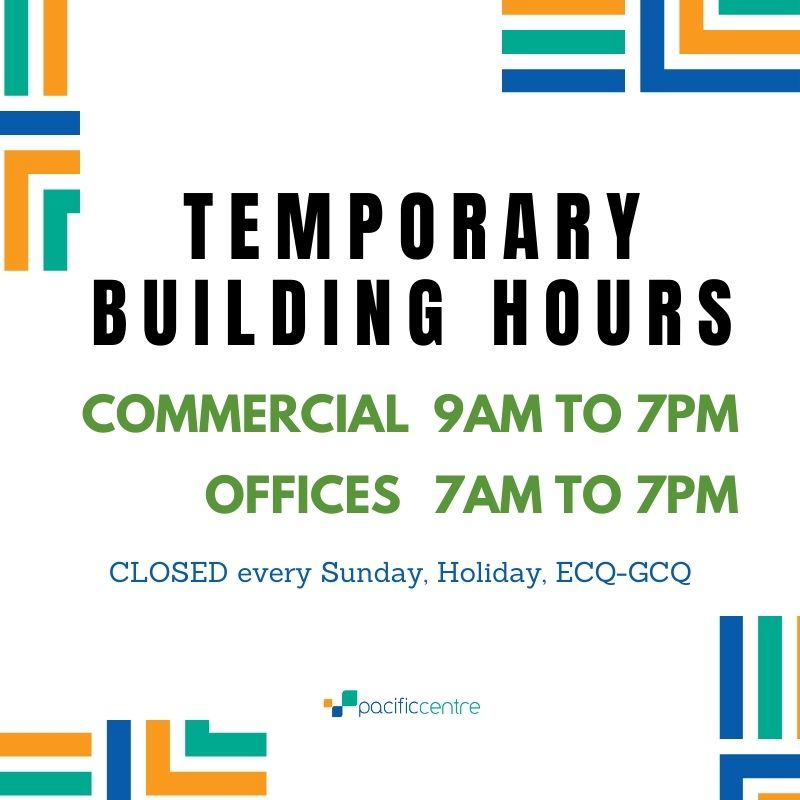 TEMPORARY BUILDING SCHEDULE